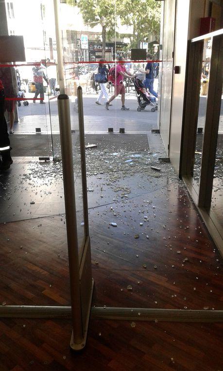 A Paris, la médiathèque Jean-Pierre Melville est  littéralement explosive!