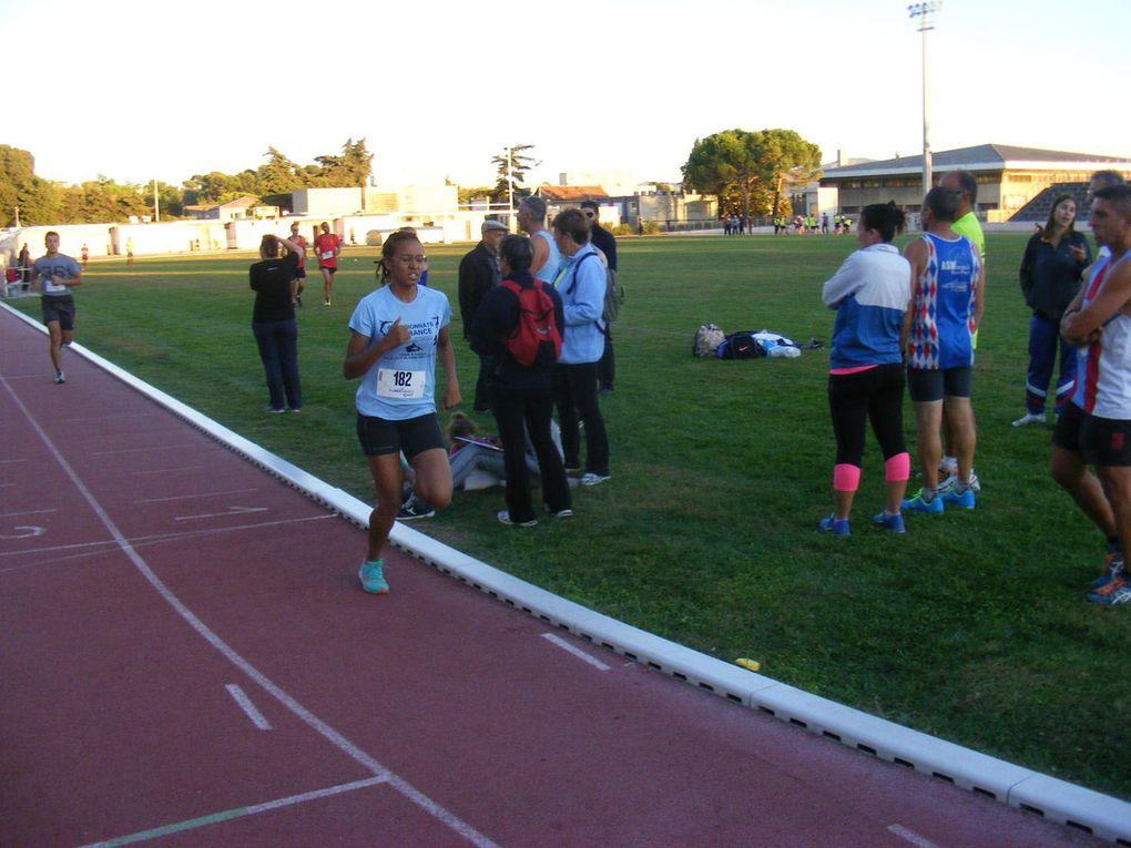 Stade Roger Couderc - Inscriptions des coureurs et la série du 1500 m