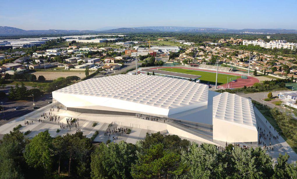 Projet de salle d'athlétisme de Miramas (source Mairie de Miramas)