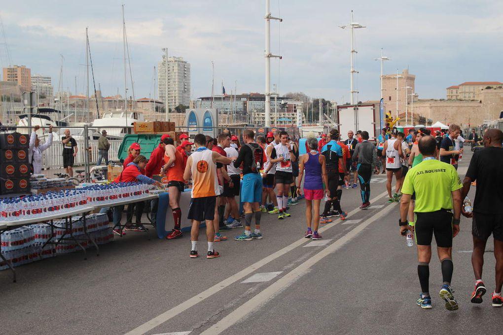 Ravitaillement d'arrivée - Run In Marseille