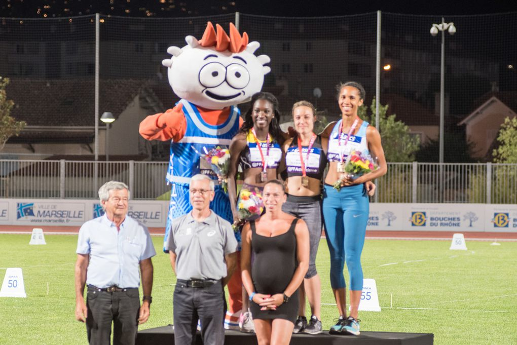 Du réglage des starts à la finale et au podium de Sandra par notre photographe Claude Guigon.