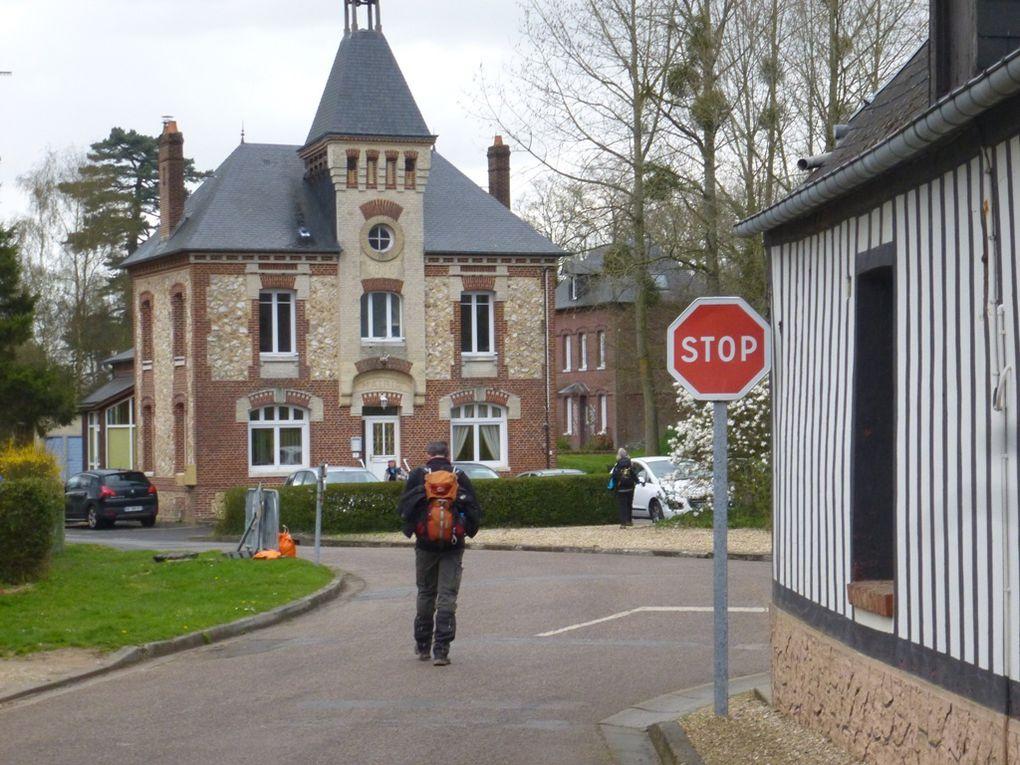 (76) Magnifique balade du patrimoine, entre la Vallée de la Durdent et Harcancourt.