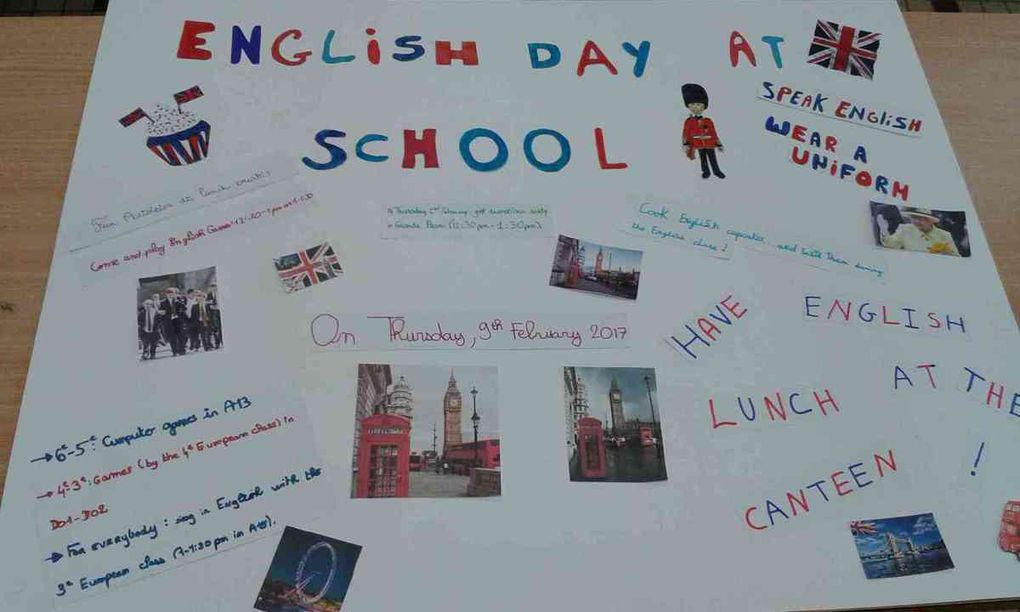 An english day in La Salle St Joseph