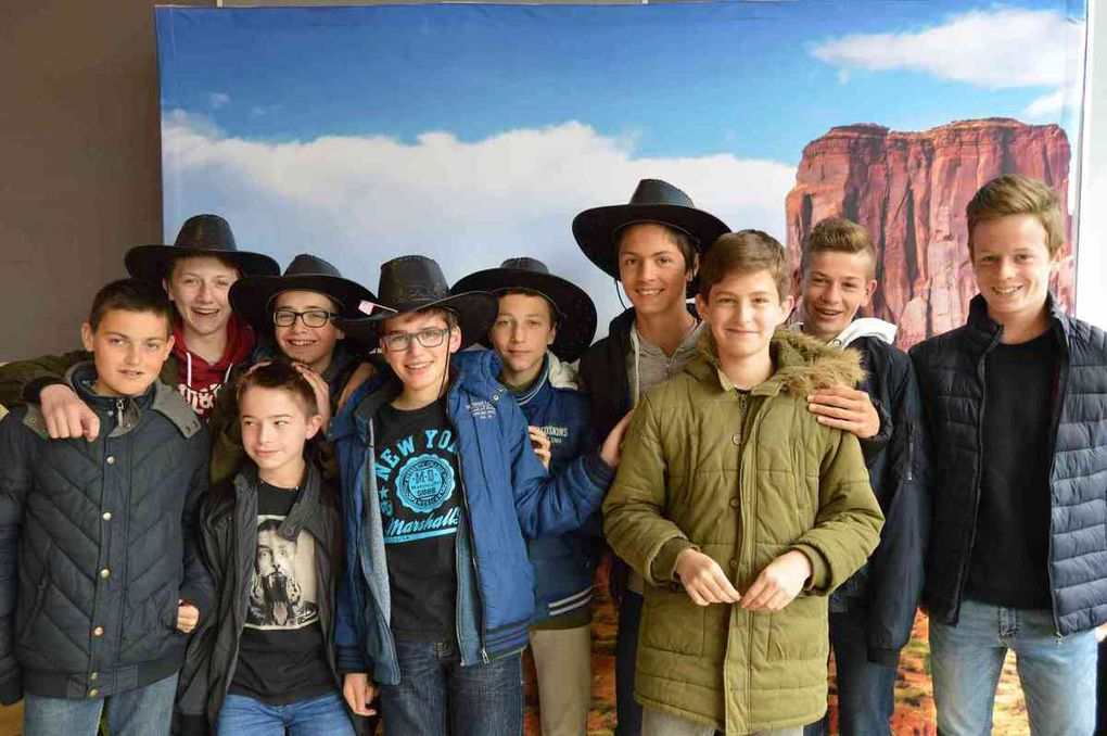 Animation Far West au restaurant scolaire