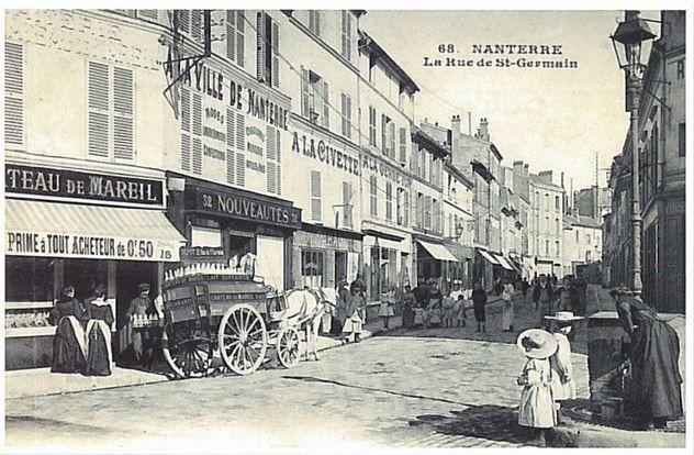 Nanterre au début du XIXème siècle et au milieu du XX ème siècle