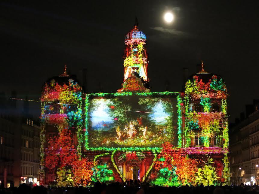 La Fête des Lumières à Lyon en 2014 : images Mathilde