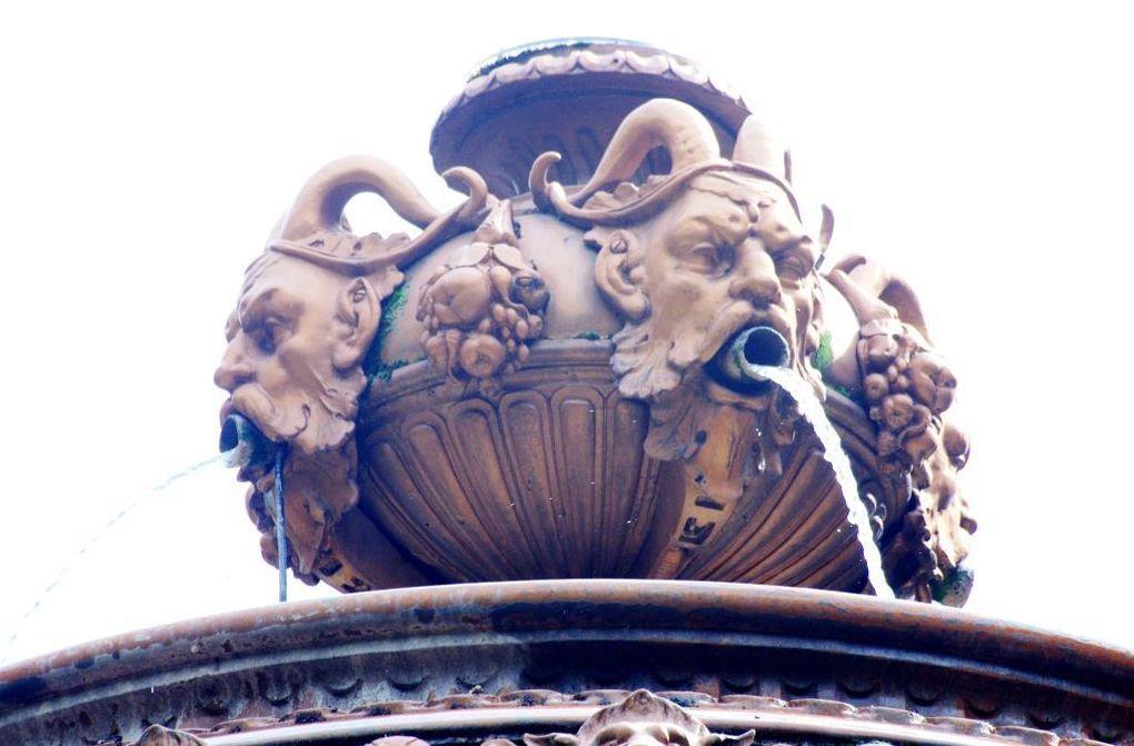 La fontaine Louvois à Paris 2ème arrondissement