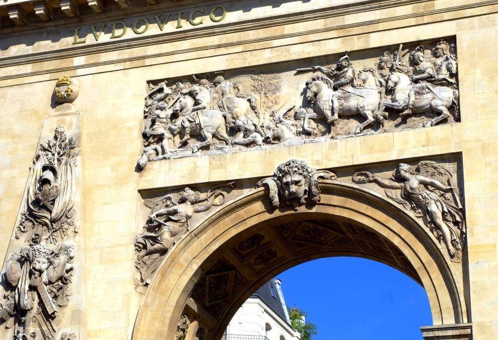 L'arc vu de la face nord et du dessous de l'arche