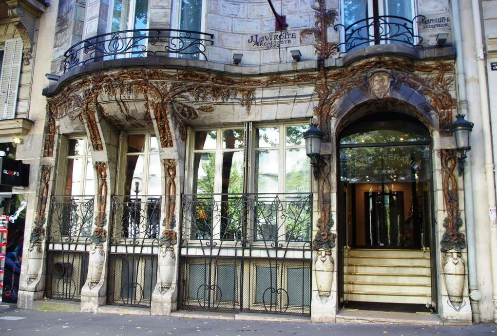 Images de l'Hôtel Céramic 34, avenue de Wagram Paris