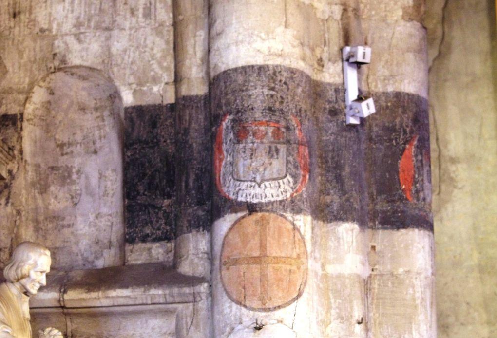 Photographies de détails réalisés dans l'église Saint-Vincent le 14 novembre dernier