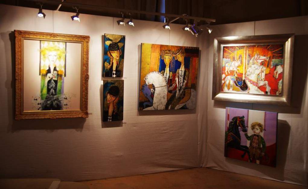 Quelques oeuvres des artistes présentées