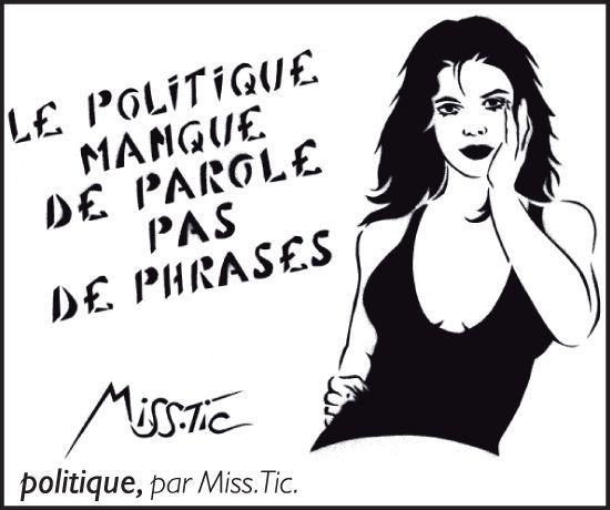 Miss.Tic poétesse