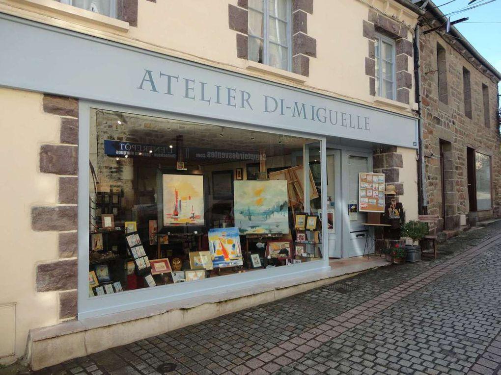 Bretagne : Chambres d'hôtes de charme à l'atelier galerie Di Miguelle à PAIMPOL