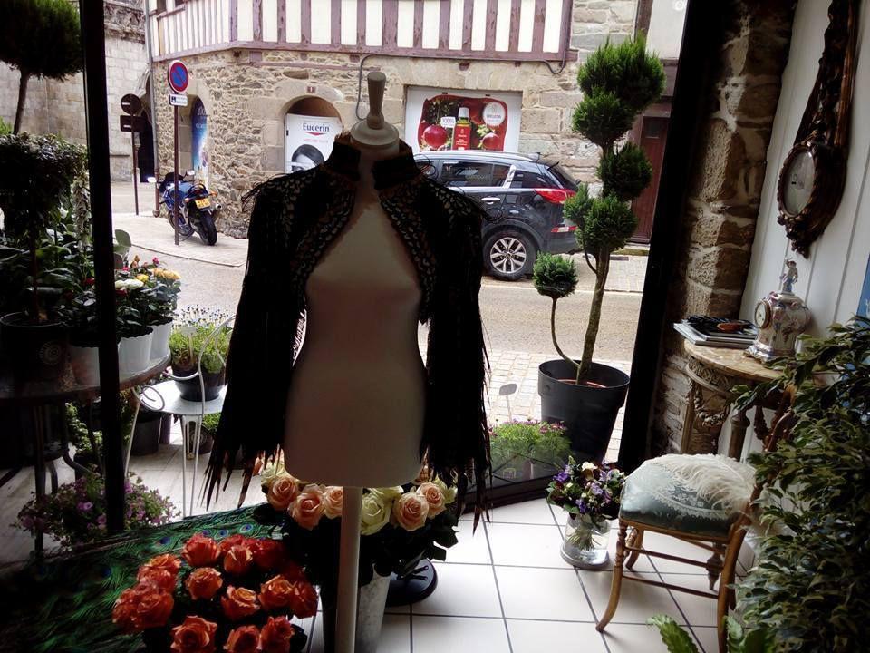 BRETAGNE : La Goutte d'O Fleuriste Plumassier le nouvel écrin floral de TREGUIER