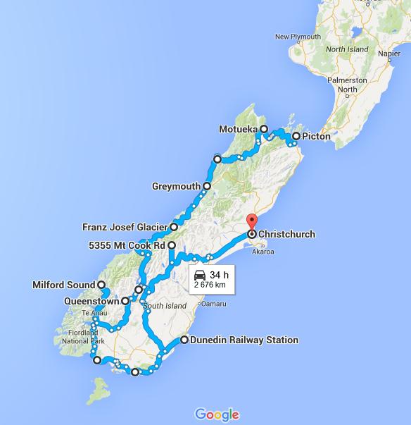 Résumé de la Nouvelle-Zélande