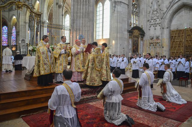 Ordinations à Auxerre