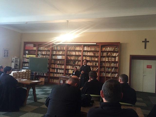 Session de prêtres à Sées