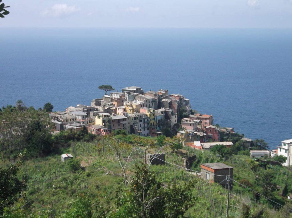 Séjour aux 5 terres 4 ème jour mercredi 13 mai 2015 CORNIGLIA - MANAROLA
