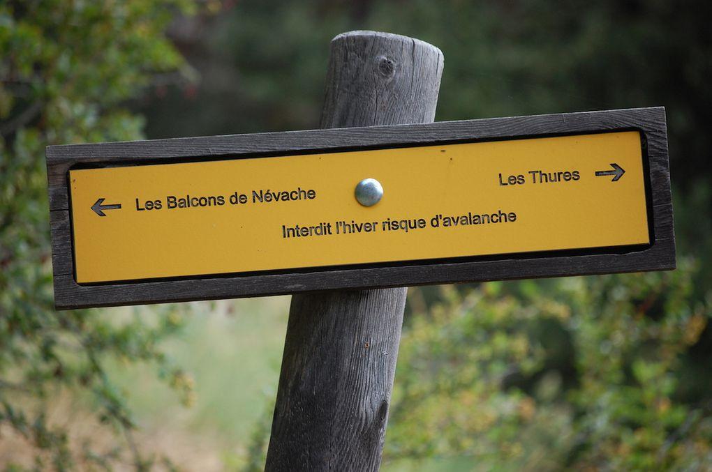 Séjour à Névache, jour 4: Balcons de Névache, Col des Thures, Les Granges de la Vallée Etroite , le Lac Vert.