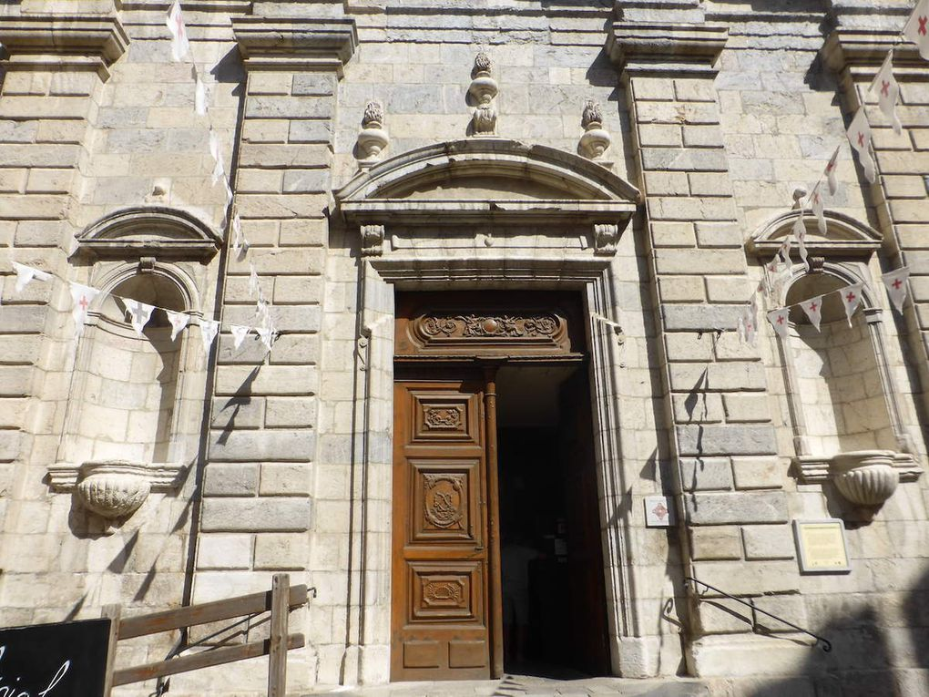 Séjour Névache, Jour 8: Visite guidée de la ville d'art et d'histoire, BRIANCON.