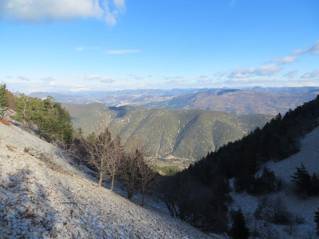 Séjour Ventoux : Dimanche 17 janvier (nouvelles photos)