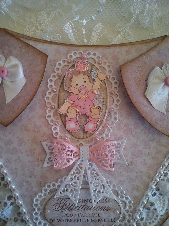 Carte de naissance couche culotte papiers Maja Design par Athéna