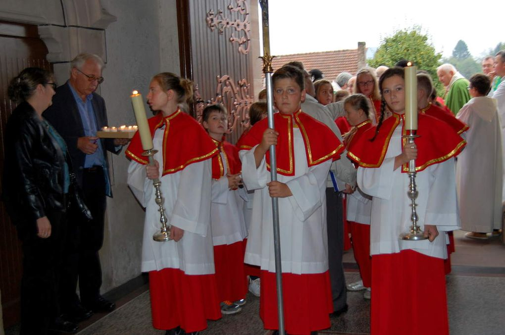 La procession d'entrée