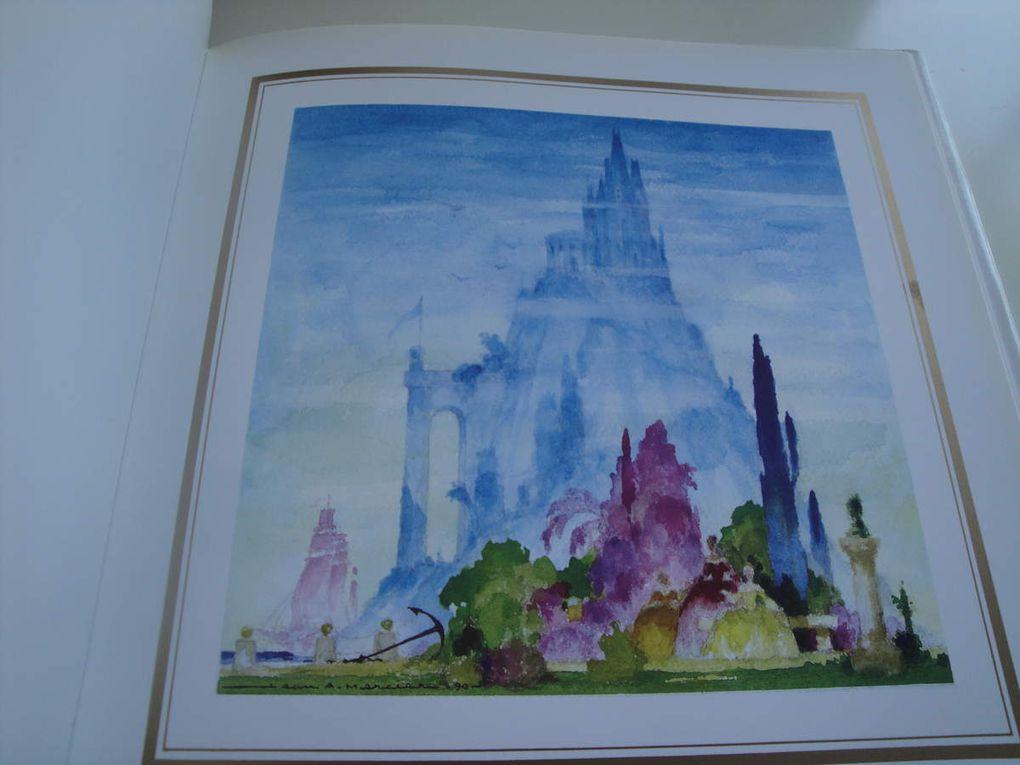 Pavillon de rêve                                    Princesse bleue                           Les fleurs du ciel                            Le jardin enchanté                     Le château  oublié                  Puck et Pinky                                  Rêve sous-marin                      l