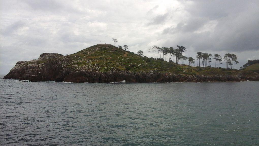 Une île qui ne peut s'atteindre que par un gué à là façon du Gois de Noir moutier,  toutes proportions gardées bien sûr.
