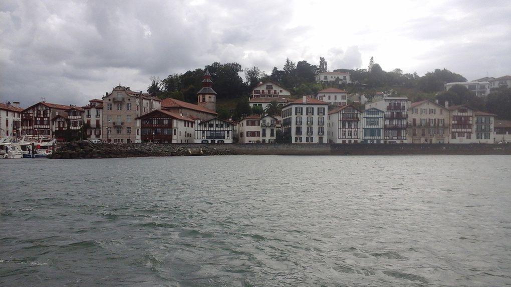 Pays basque entre pluie et soleil.