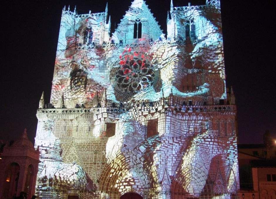 La fête des Lumières à Lyon Décembre 2016