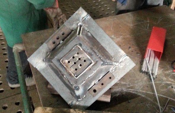 renovation des forges à L'atelier des BRIEUX