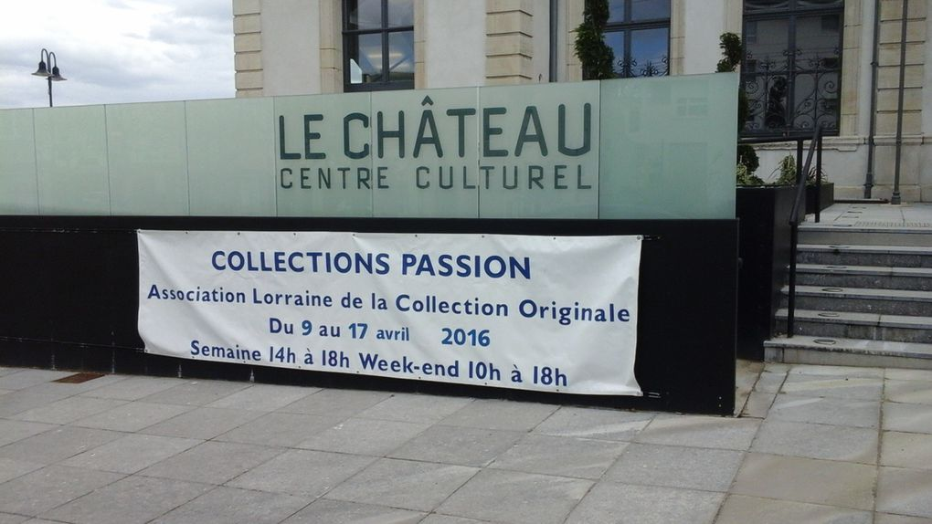 Collections Passions 4 suite de la mise en place de l'exposition