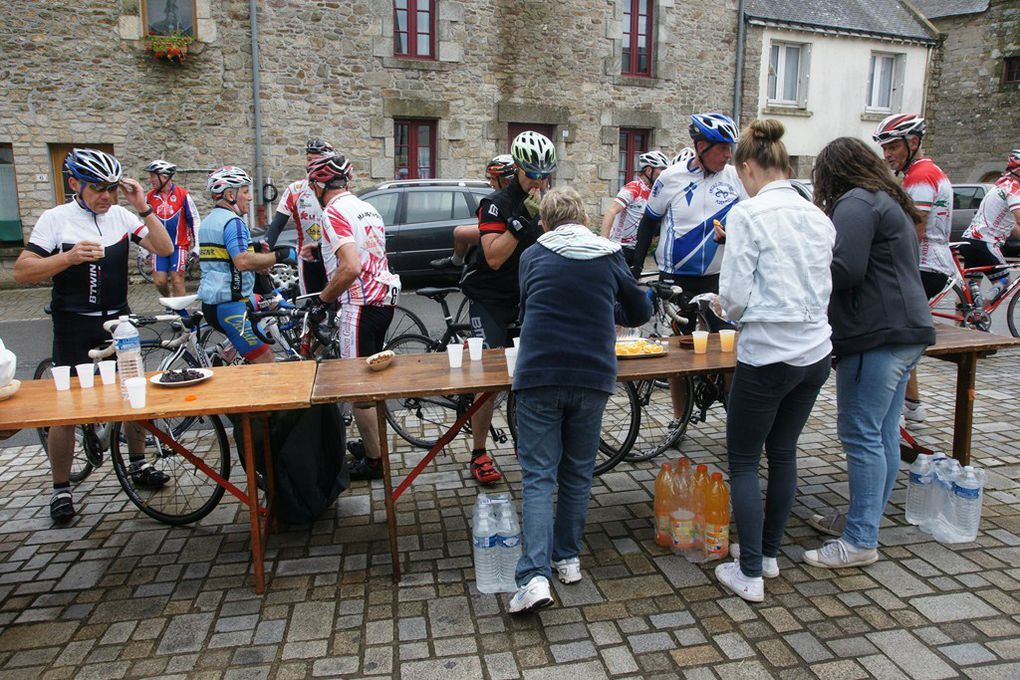 Photos de la Cyclo : Mme Magnier, Mr Bailly, 5 juillet 2015