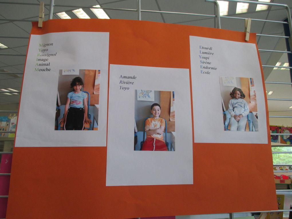 Notre expo à la bibliothèque