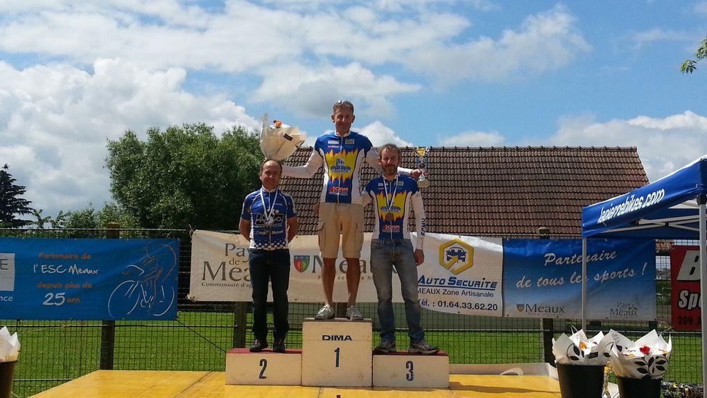 Les différents podiums de Trilport le 19 juin 2016