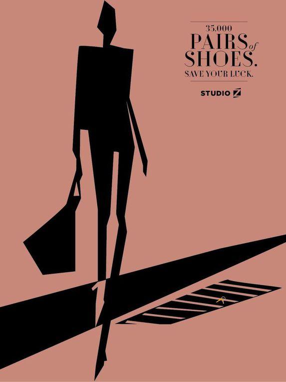 Pub de la semaine : Studio Z, le marchand de chaussures brésilien