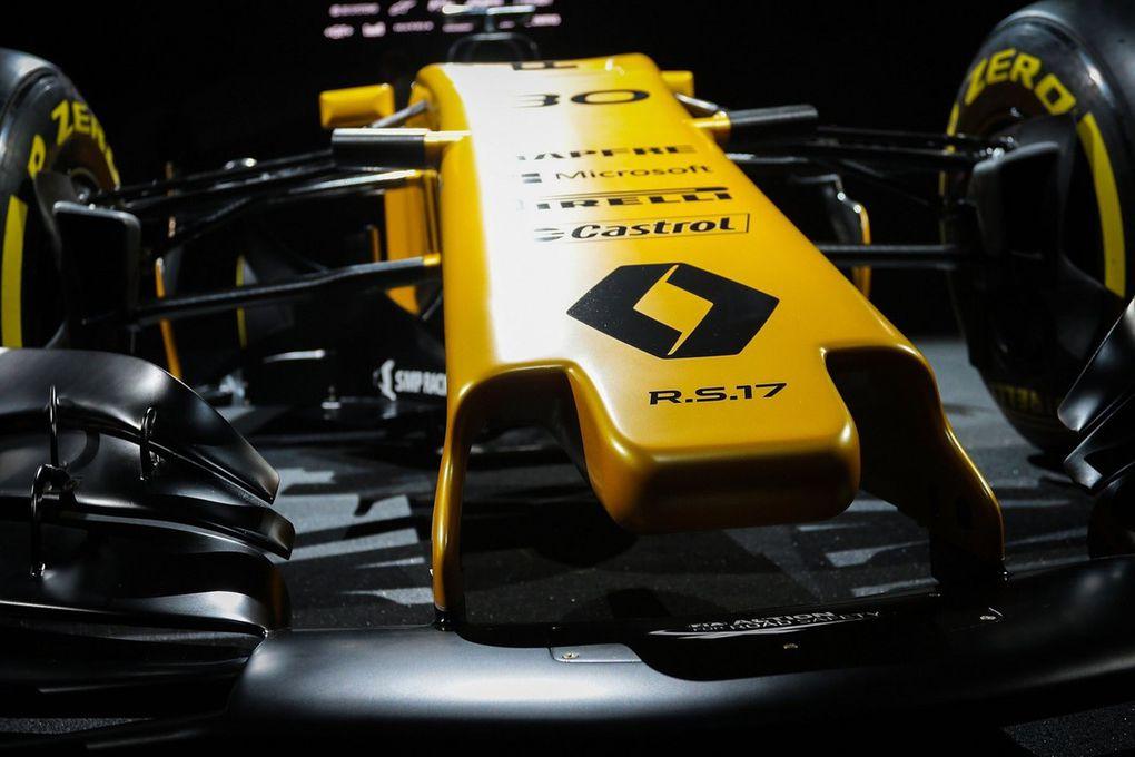 Branding : Nouveau Logo F1 Renault Sport