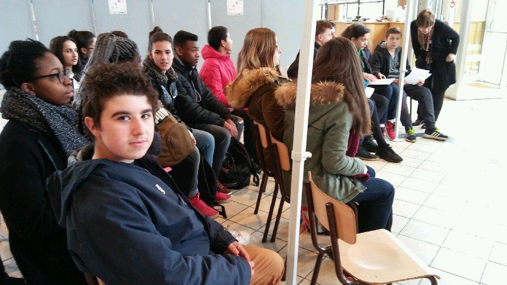 Visite du lycée Marie Marvingt