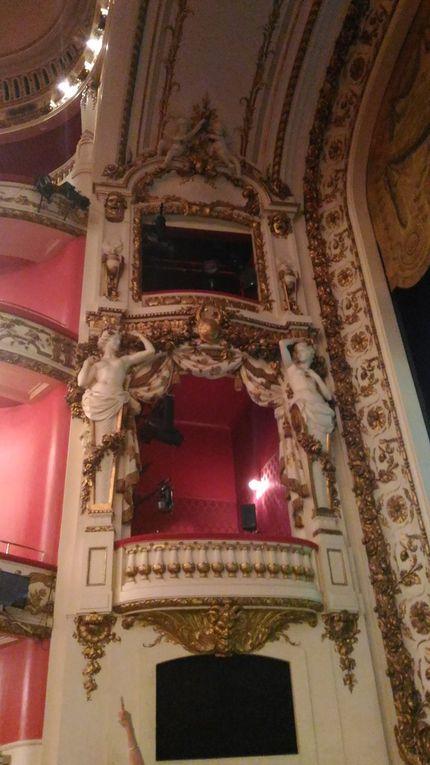 La visite de l'opéra