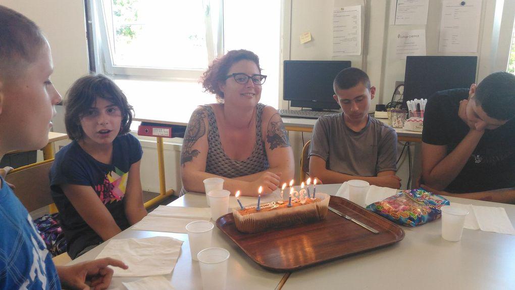 Les anniversaires de Steven et Mme Goupil et le départ d'Ivan