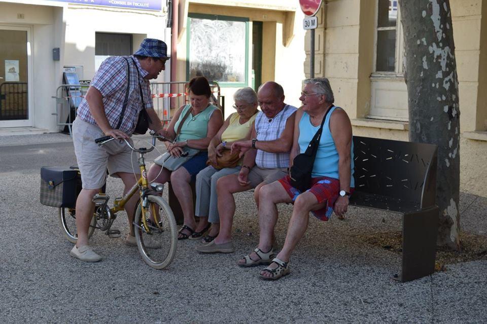 Gontran s'est fait des amis dans l'Aude !