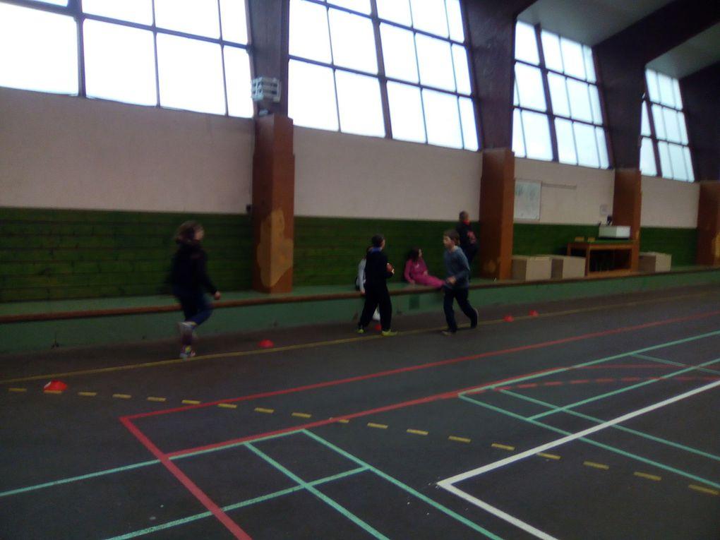 Tournoi de Basket ...dernier entraînement !