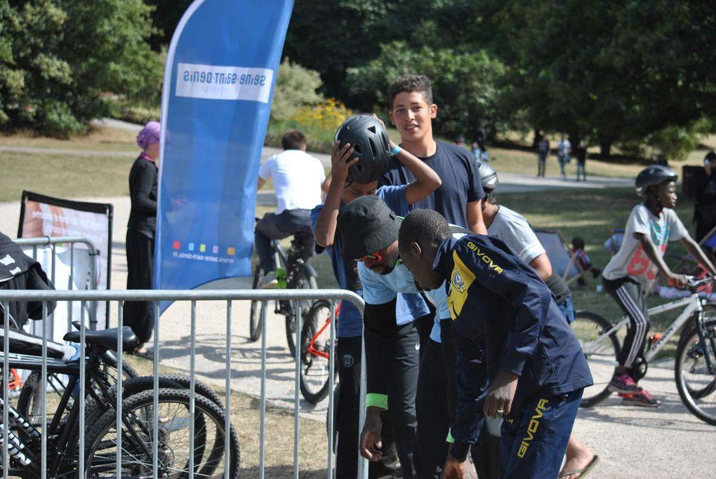 3eme journee de l'étape PLAYA TOUR en Seine Saint Denis au parc Georges VALBON