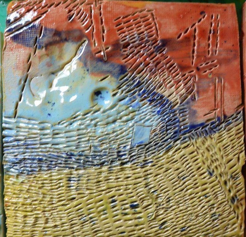Inselatelier at work! Bausteine des Miteinanders - unser Mosaik nimmt Gestalt an!