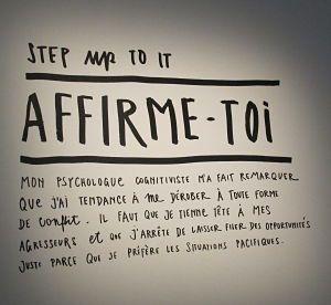La recette du bonheur selon Stefan Sagmeister : s'affirmer, avoir du culot, demander pour obtenir, ou encore vivre l'instant présent.