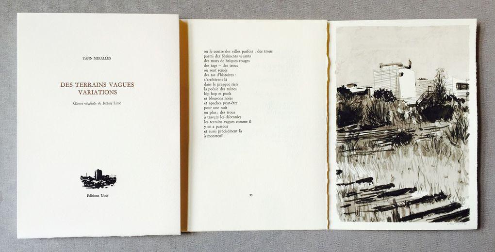Samedi 22 octobre, lecture de Raluca Maria Hanea &amp&#x3B; Yann Miralles