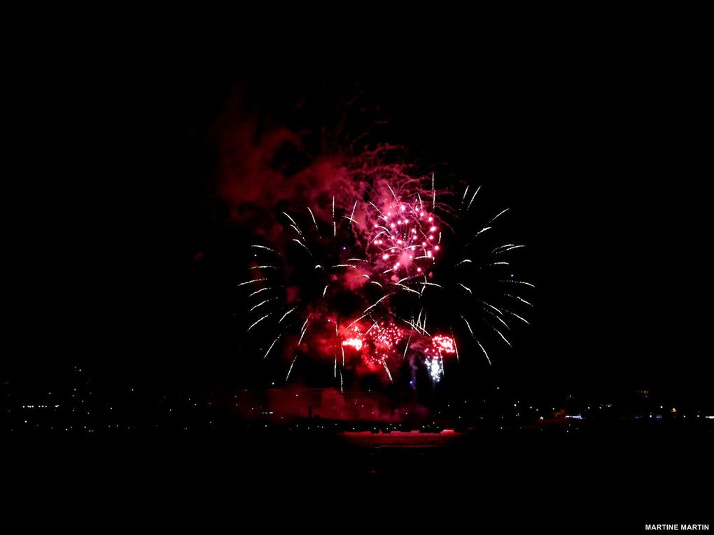 Photos feu d'artifice Les Sables d'Olonne Juillet 2015