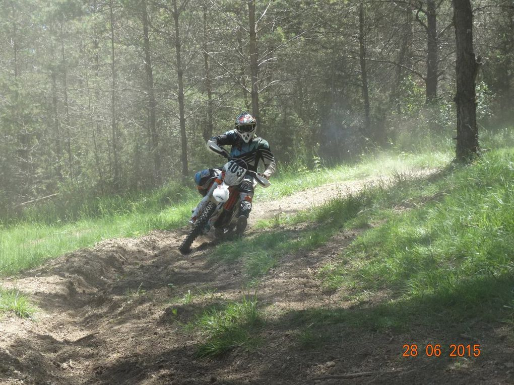 Photos stage enduro kid N°8
