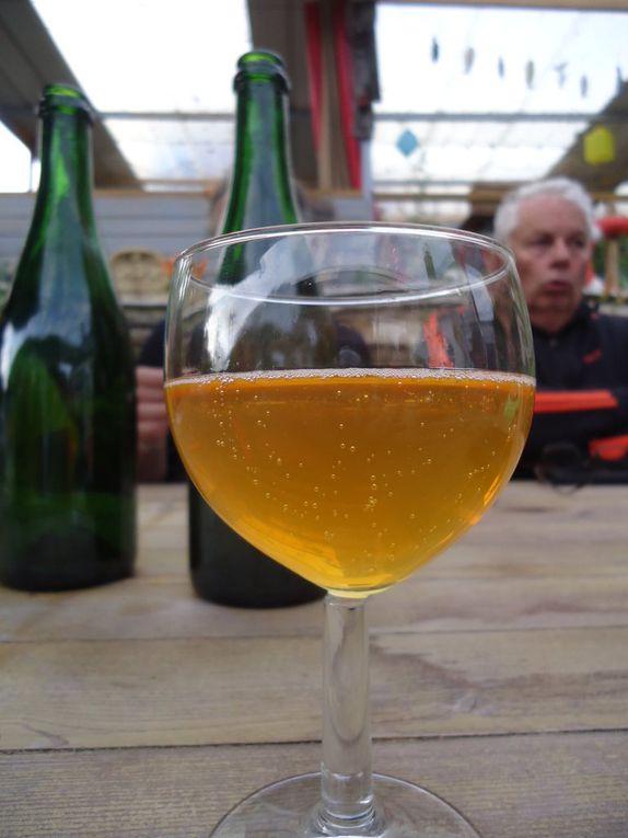 cidre, bière, chouquettes de Chantal...la sortie Melba